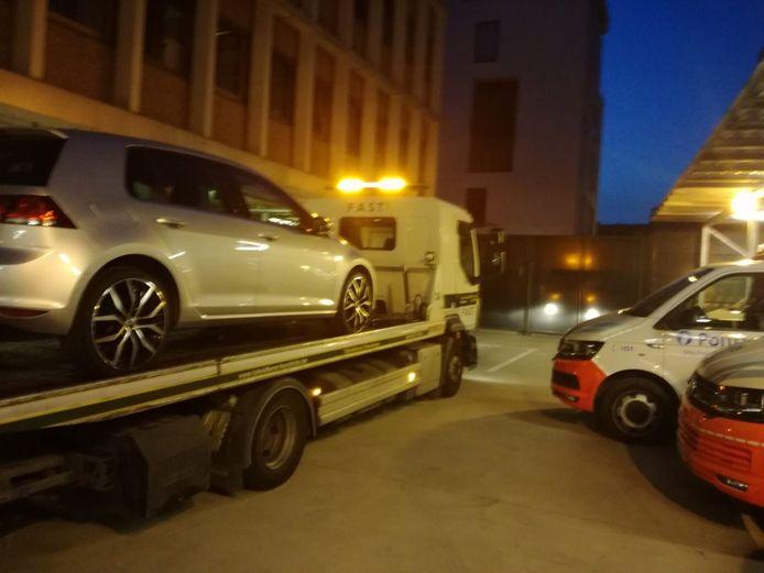 De politiezone nam de verkeerde wagen in beslag.