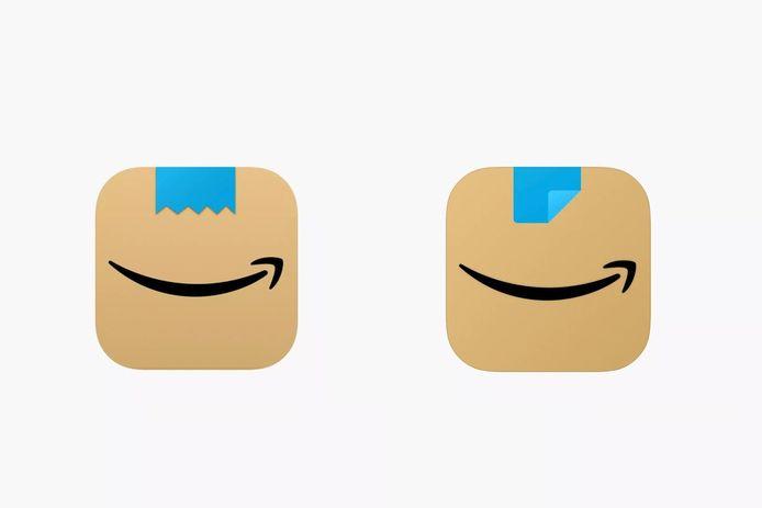 Links: het oude logo, rechts: het nieuwe logo.