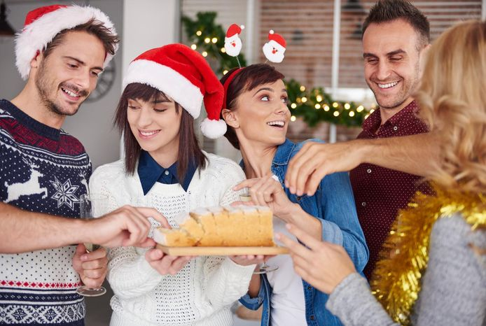 Bij 9 op de 10 bedrijven wordt er op het einde van het jaar een feestje gegeven.