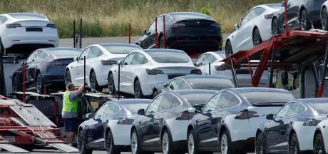 Une partie de la production de l'usine Tesla en Californie serait à l'arrêt