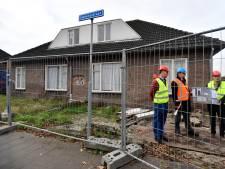 Na jaar uitstel: leegstaande woningen Sweensstraat  tegen de vlakte