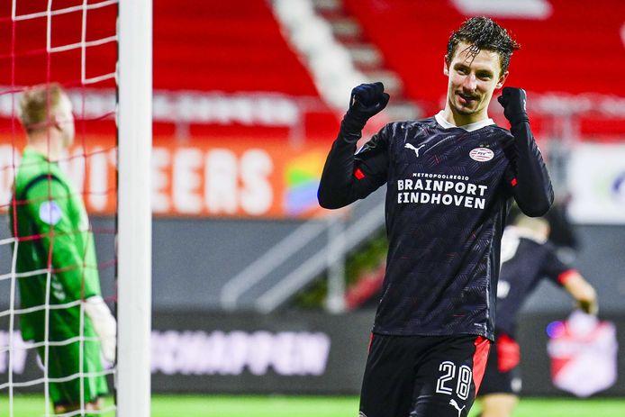 Olivier Boscagli blijft langer bij PSV.
