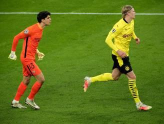 Achterhaald: wat Haaland en Sevilla-keeper Bounou elkaar toeriepen