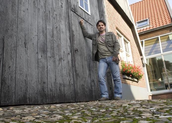Armin Scheuten in zijn woonplaats Aalten. foto Theo Kock