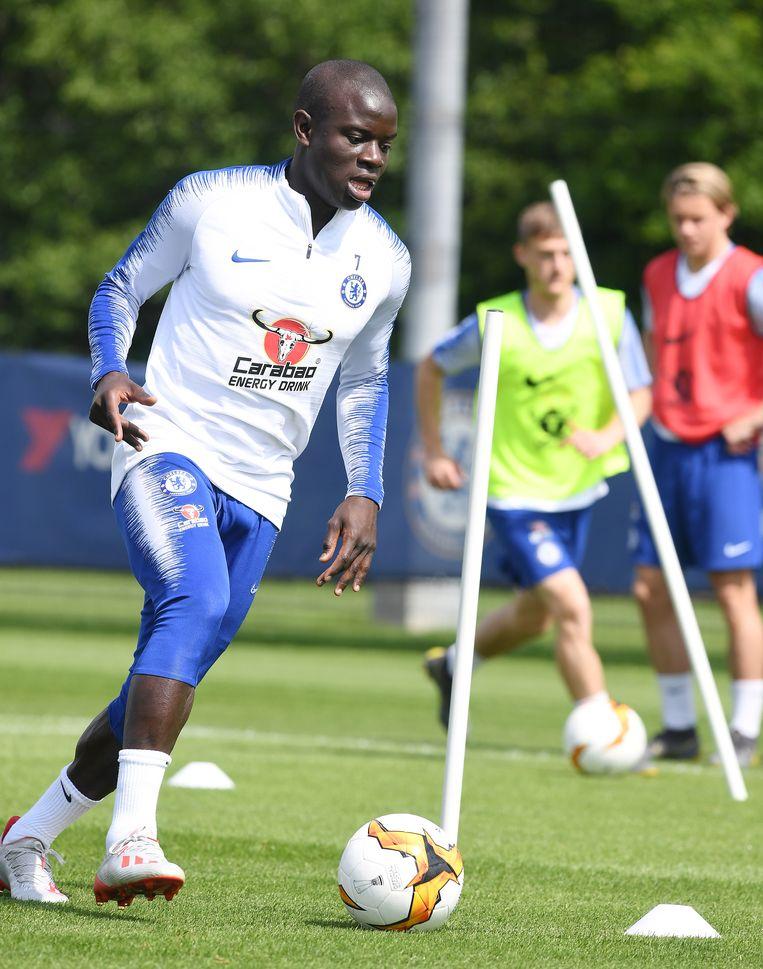 N'Golo Kanté hervatte de trainingen.