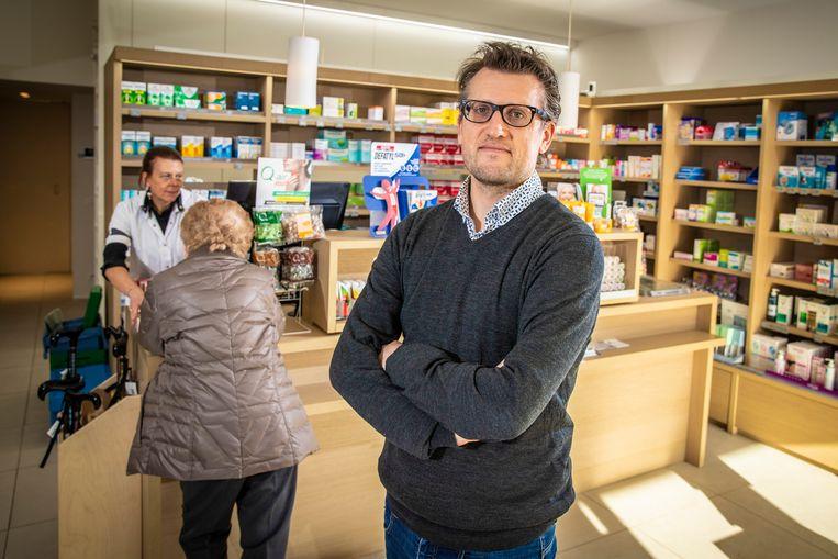 Michael Storme (40), voorzitter Oost-Vlaamse apothekersgilde