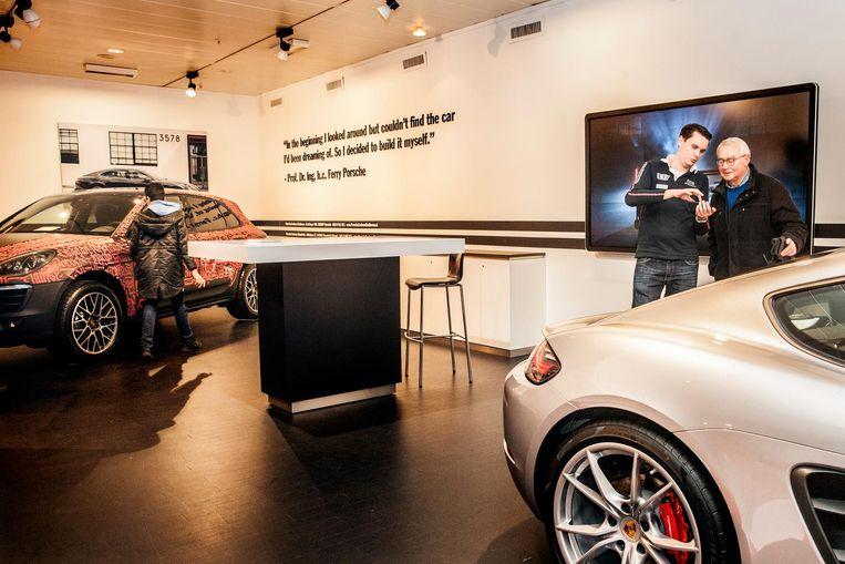 's Hertogenbosch: geen damesmode meer, wel Audi en Volkswagen. Beeld null