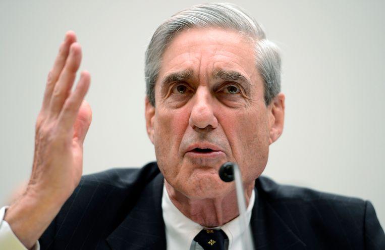 Voormalig FBI-directeur Robert Mueller. Beeld EPA