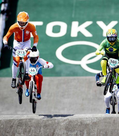 Zestal BMX'ers onbedreigd naar halve finales: 'Het waren lekkere rondjes'