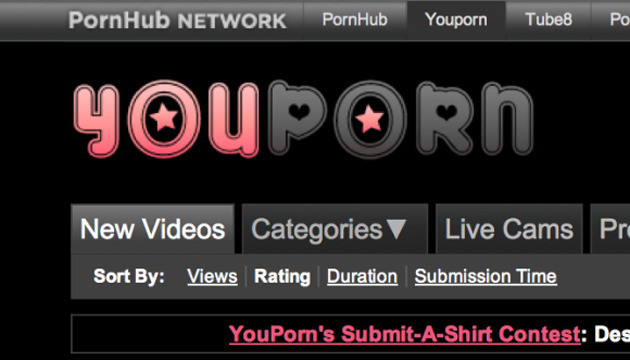 YouPorn.com, een van de websites van Fabian Thylmann.