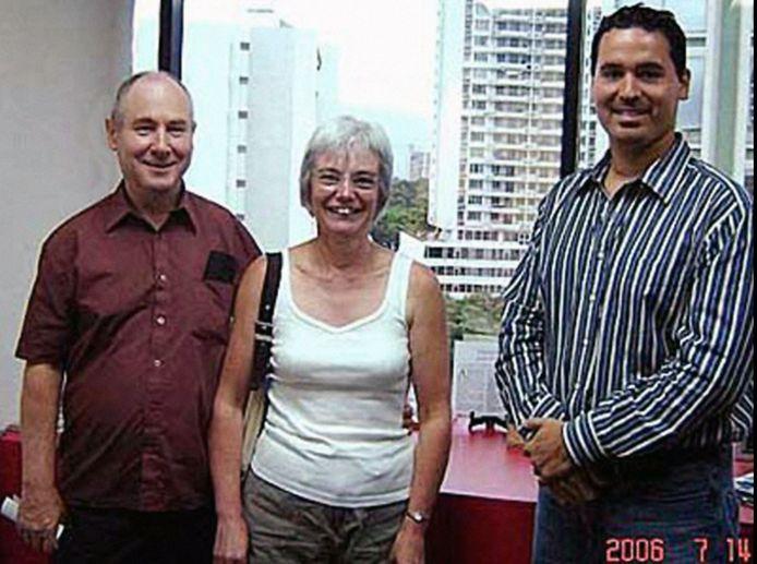 De foto die hen uiteindelijk de das zou omdoen, gemaakt op 14 juli 2006.