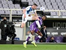 Atalanta komt tegen Fiorentina met de schrik vrij