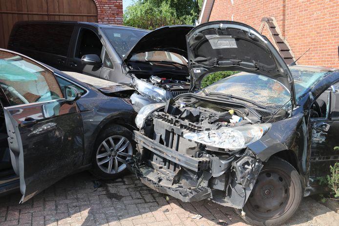De schade na het ongeval was aanzienlijk