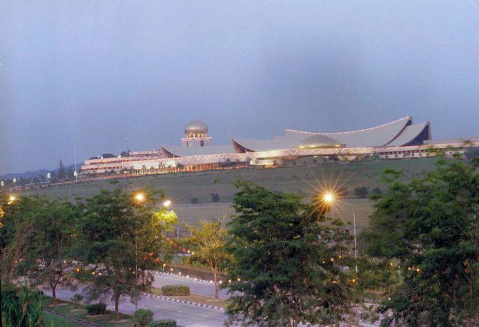 Istana Nurul Iman in 1989.