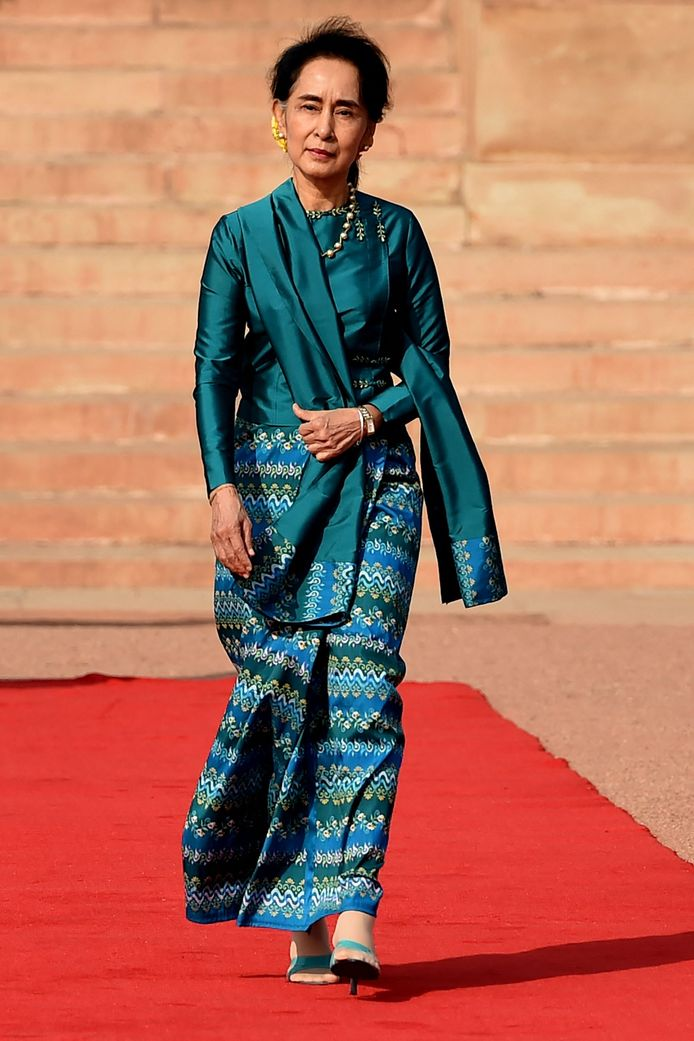 Voormalig regeringsleider van Myanmar Aung San Suu Kyi (75)