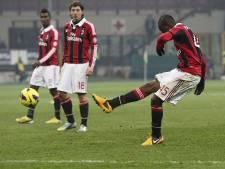 Balotelli staat nog geen wedstrijd droog in Milaan