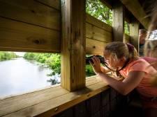 Nieuwe vogelkijkhut Zwartewatersklooster is óók voor mensen met een beperking
