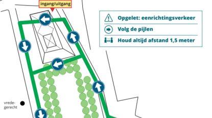 Stad stelt circulatieplan voor woensdagmarkt in coronatijden voor