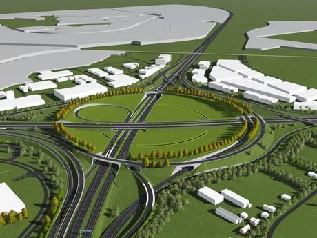 Ombouwen van knooppunt Hoevelaken begint in 2021