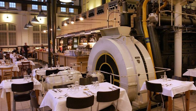 Interieur van restaurant Amsterdam. Foto Suzanne Blanchard Beeld