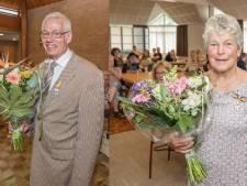 Koninklijke onderscheiding voor Joop Versluijs en Ria van 't Hof