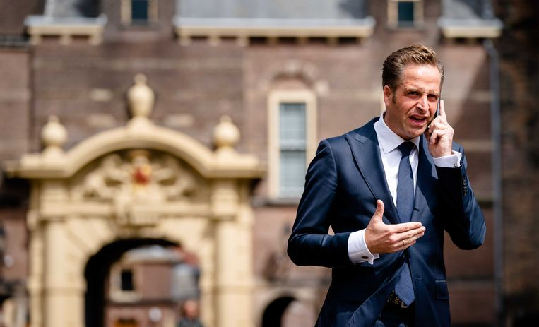 CDA-minister Hugo de Jonge.  Beeld ANP