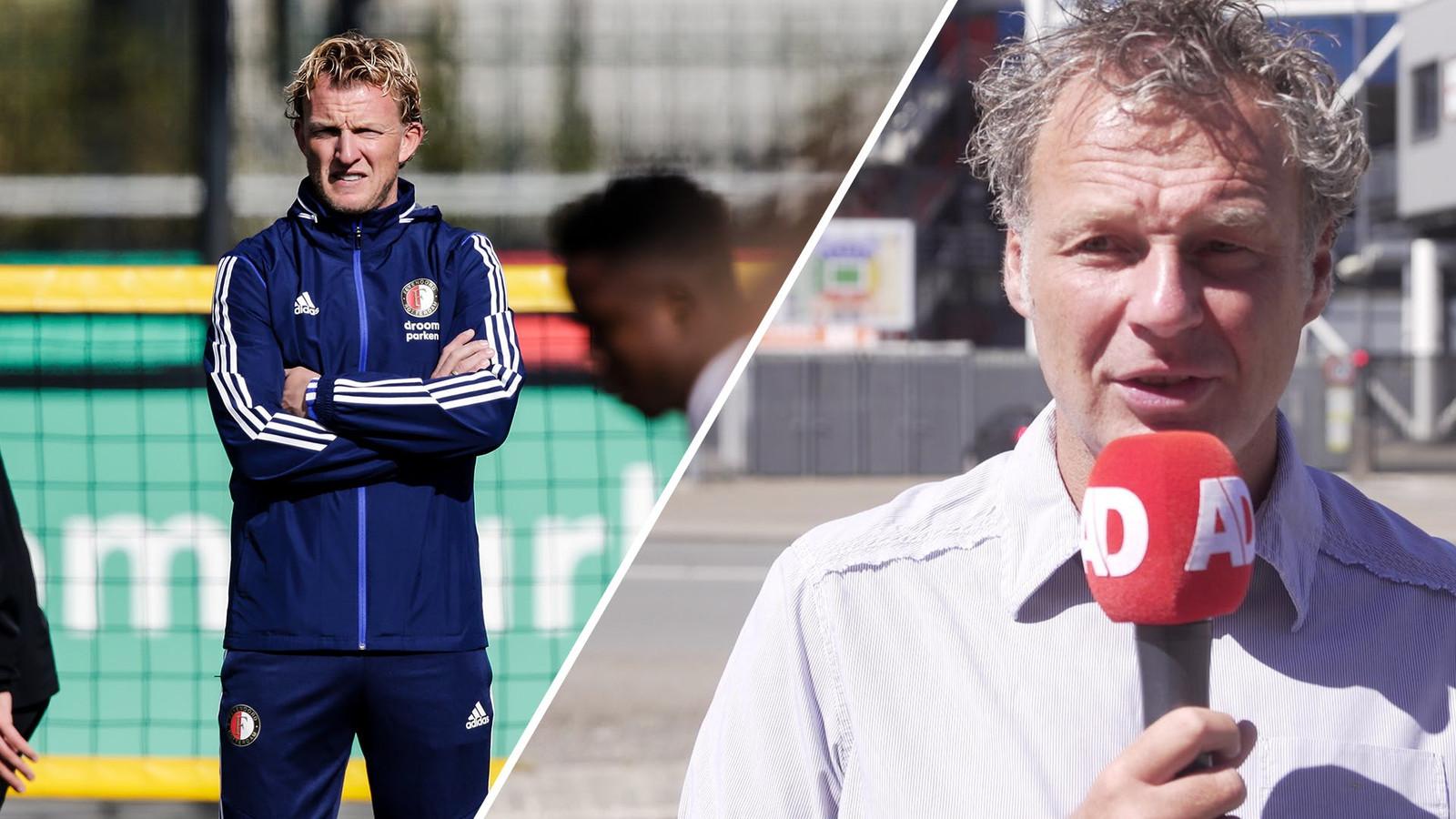 Feyenoord-watcher Mikos Gouka beantwoordt vragen van lezers van AD Sportwereld