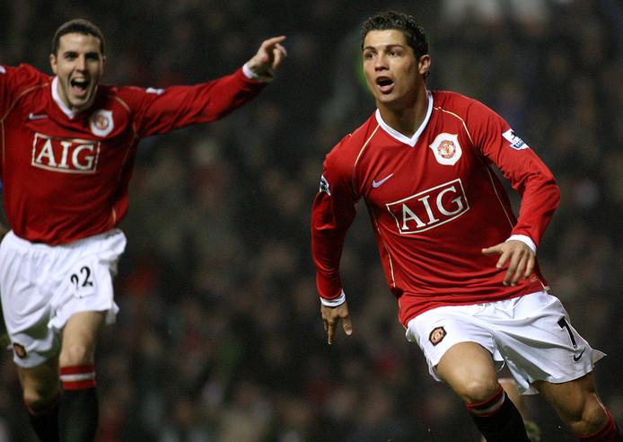 Cristiano Ronaldo werd bij Manchester United voor het eerst kampioen. In het seizoen 2006/2007 veroverde hij zijn eerste landstitel. In de twee daarop volgende seizoenen werd hij ook kampioen van Engeland.