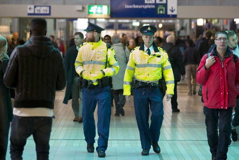 De politie is de grootste werkgever van Nederland. Beeld anp