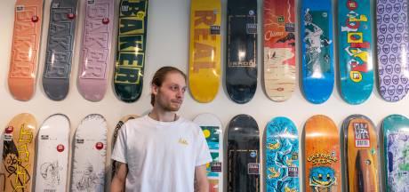 Arnhemmer runt sinds kort in zijn eigen stad een skateshop. Ook voor een kop koffie en een praatje