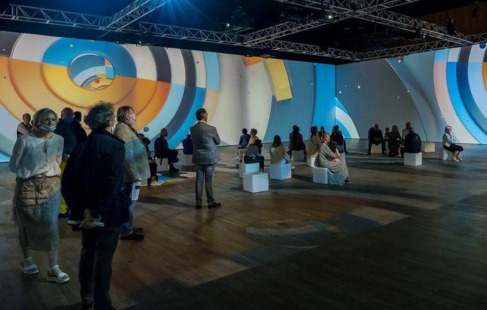 """Exposition """"De Monet à Kandinsky"""", au Palais des Congrès de Liège."""