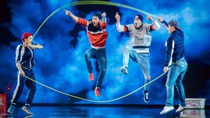 DDF-crew niet naar volgende ronde America's Got Talent