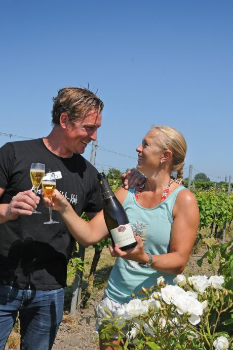 Het wijnfeest in Dreischor stopt, maar Wijnhoeve De Kleine Schorre barst van de nieuwe plannen