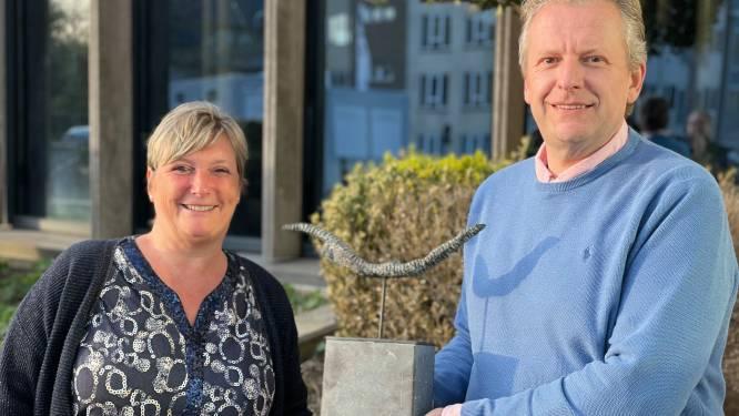 Toneelvereniging Kink Kank Hoorn heeft een nieuwe voorzitter. En 't is een oude bekende