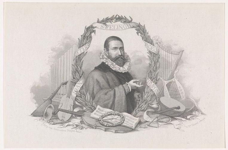 Jan Pieterszoon Sweelinck (1561-1621).  Beeld Heritage Images/Getty