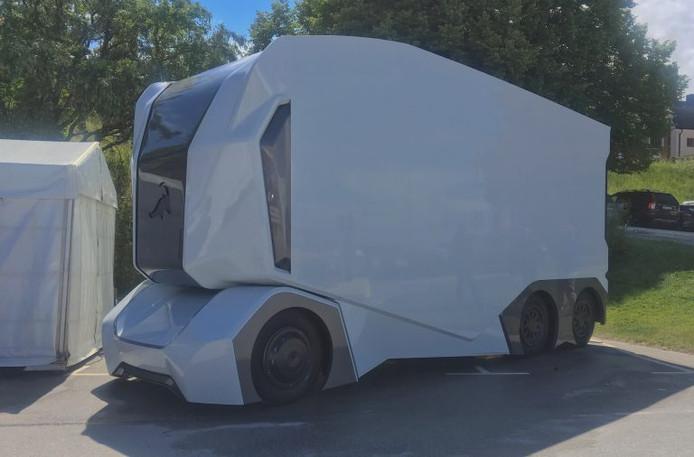 Lidl is een van de eerste bedrijven die met de T-Pod willen gaan rijden.