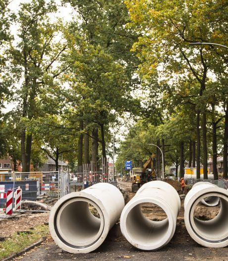 Werk aan Kolthofsingel in Almelo vertraagd door gebrek aan materialen