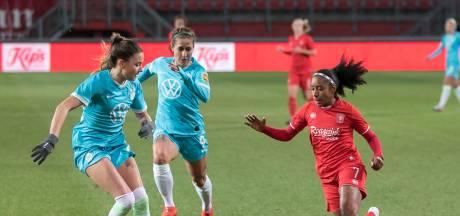 Europees avontuur voetbalsters FC Twente eindigt met nipte nederlaag