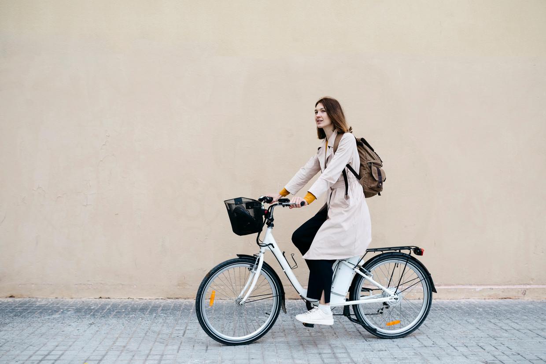 Elektrische fiets Beeld Getty Images/Westend61