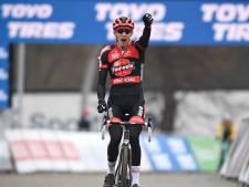 Vanthourenhout prend sa revanche à Tabor, nouveau podium pour Wout Van Aert