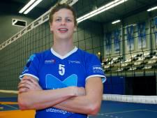Volleyballer Auke van de Kamp voelt zich op zijn plek bij Lycurgus