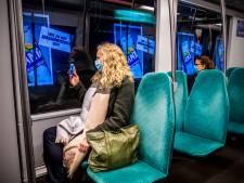 Reizigers verrast door bewegende reclamebeelden in de metrotunnel: 'Veel leuker dan andere reclame'