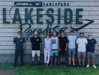 Lakeside Paradise krijgt Franse superster op bezoek, die er film maakt over wakeboarden