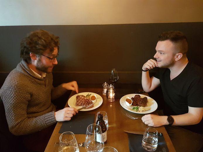 Niels (links) en Dennis.