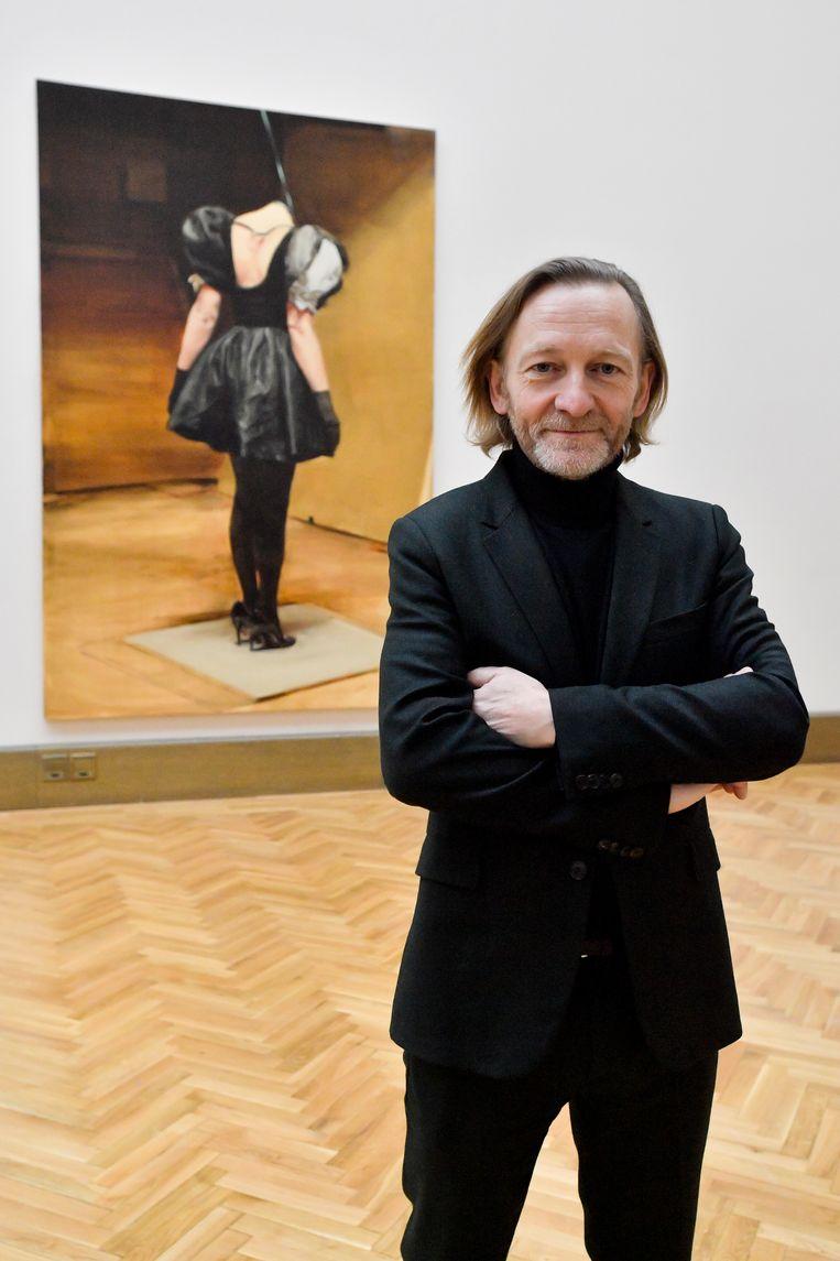 Michaël Borremans. Beeld BELGAIMAGE
