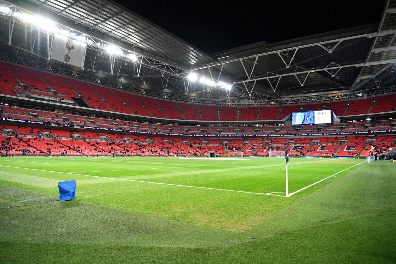 Op Wembley wordt de EK-finale gespeeld.