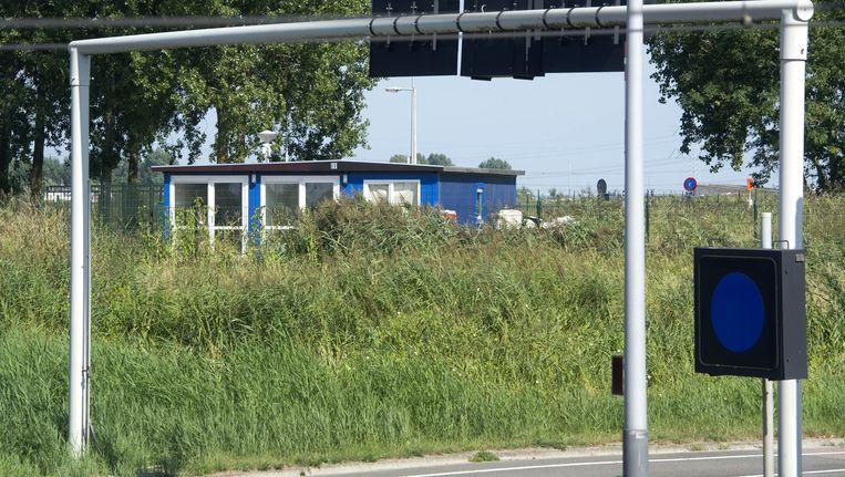 In 2013 werd een familie die voor problemen zorgde overgebracht naar een wooncontainer op Zeeburgereiland Beeld anp