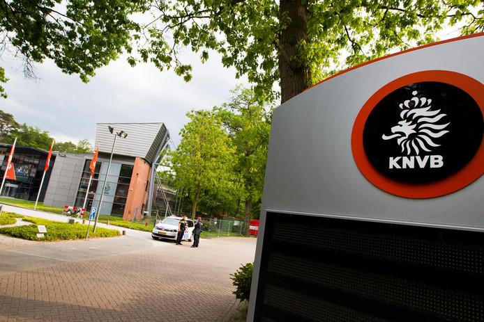 Het KNVB-kantoor in Zeist.