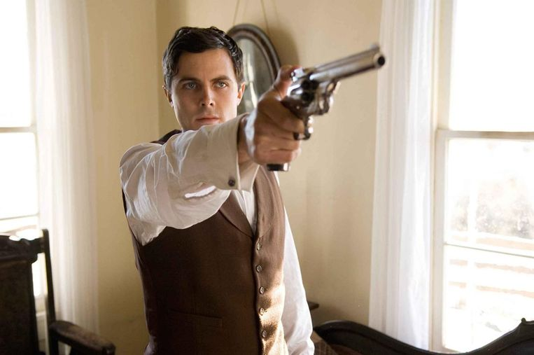 Casey Affleck in The Assassination of Jesse James by the Coward Robert Ford. Beeld