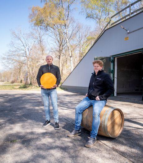 Niet alleen kaas, maar ook wijn rijpt prima in Daarlese bunkers